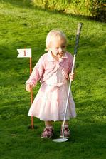 nejmladší golfistka