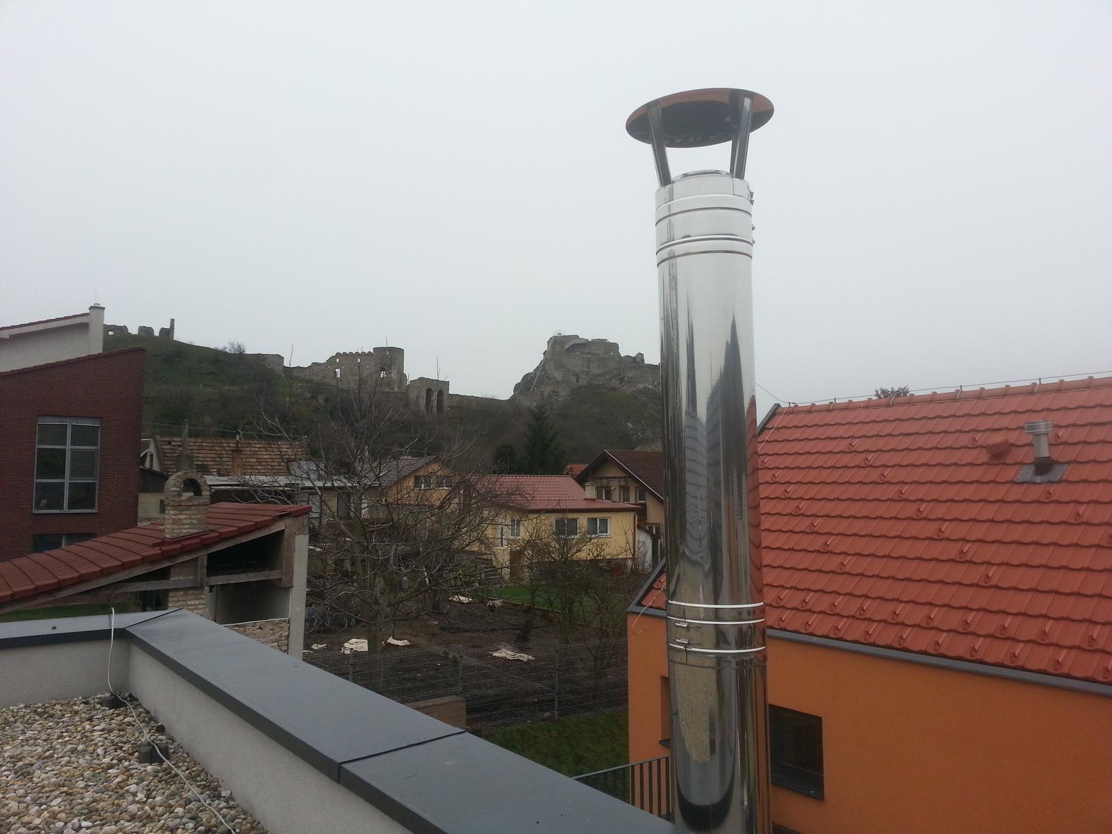Trojvrstvový fasádny komínový systém - Obrázok č. 2