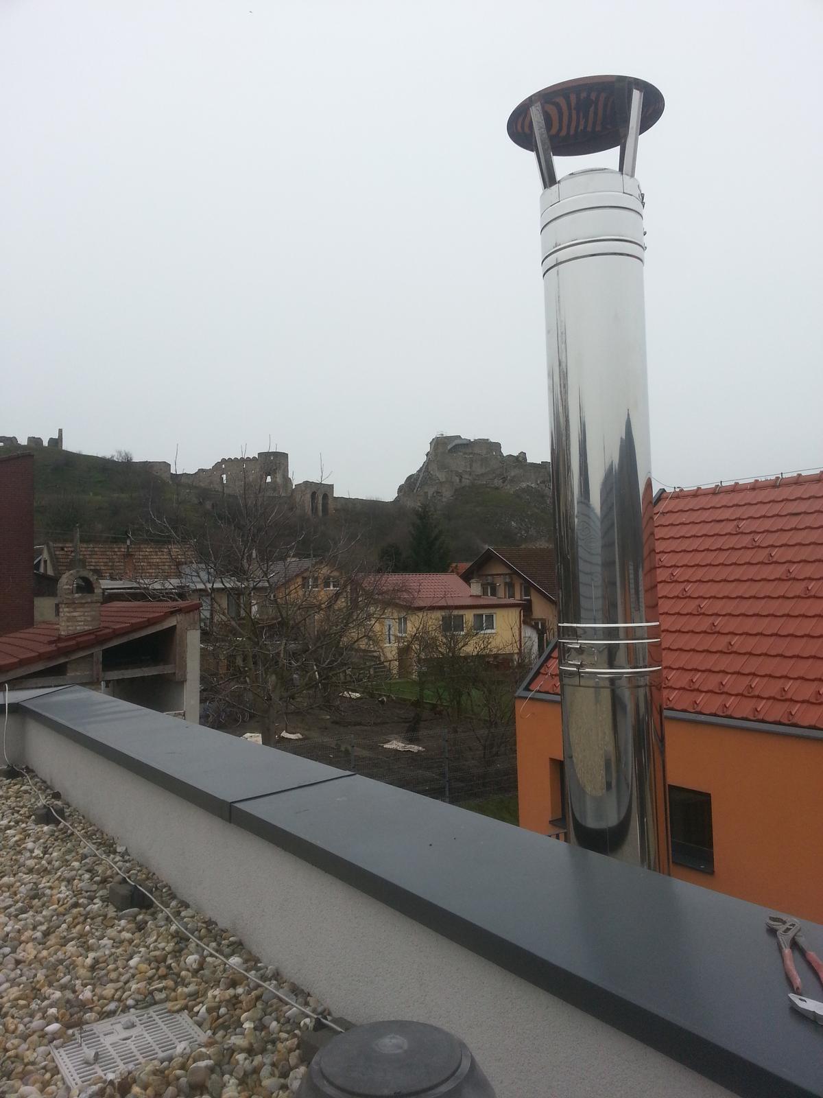 Trojvrstvový fasádny komínový systém - Obrázok č. 3
