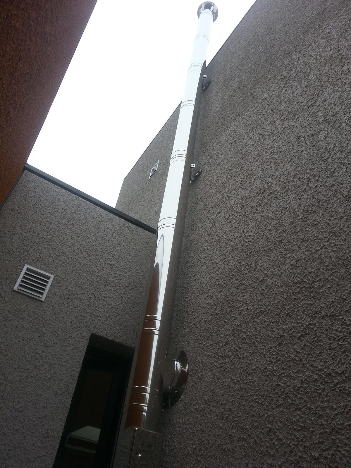 Trojvrstvový fasádny komínový systém - Obrázok č. 6