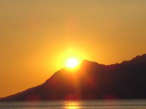 při tomto krásném západu slunce,25.7 2007 mě přítel požádal o ruku