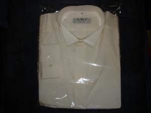 smetanová košile pro přítele