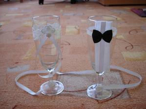 pro rodiče 4 krásné skleničky na památku