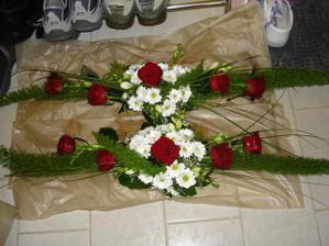 kytky na stůl
