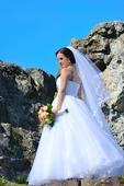 Svadobné šaty veľ. 36 - 40, 38