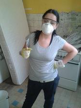 nažhavená na škrábaní byla jen chvíli :-) moc nám pomáha...moje sestřička
