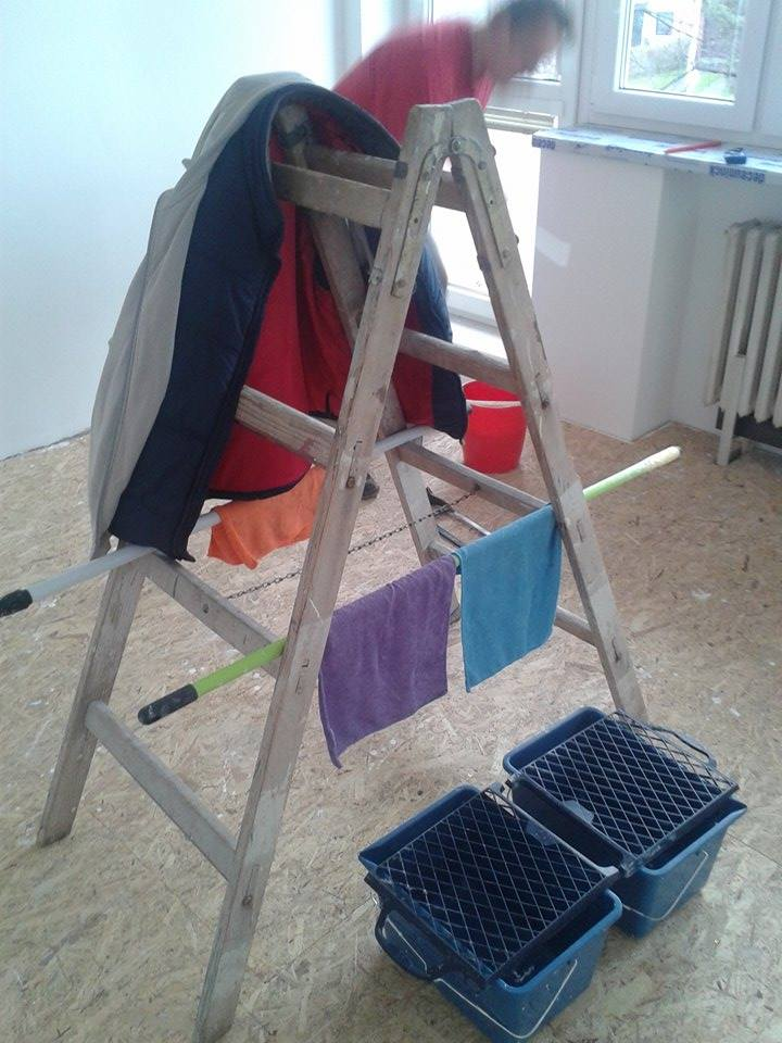 Naše rekonstrukce - Vymalováno :-)