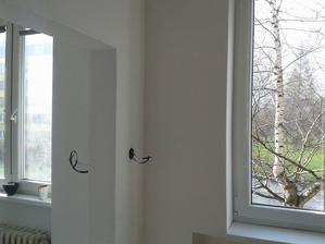 konečně už vidíme ven skrz okna :-)