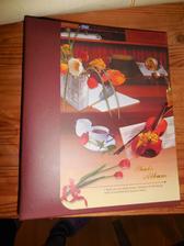 Samolepící fotoalbum od ťamanů za kilo. Rozděláno a obaleno ručním papírem. Celkem 4 alba :-)