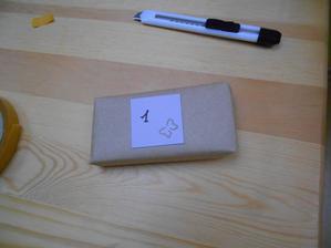 První balíček tomboly :-) Už jen 84 :-D :-D