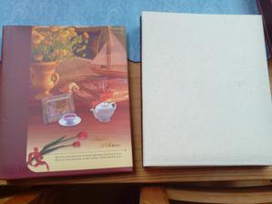 Jedno fotoalbum originál a druhé po mé úpravě