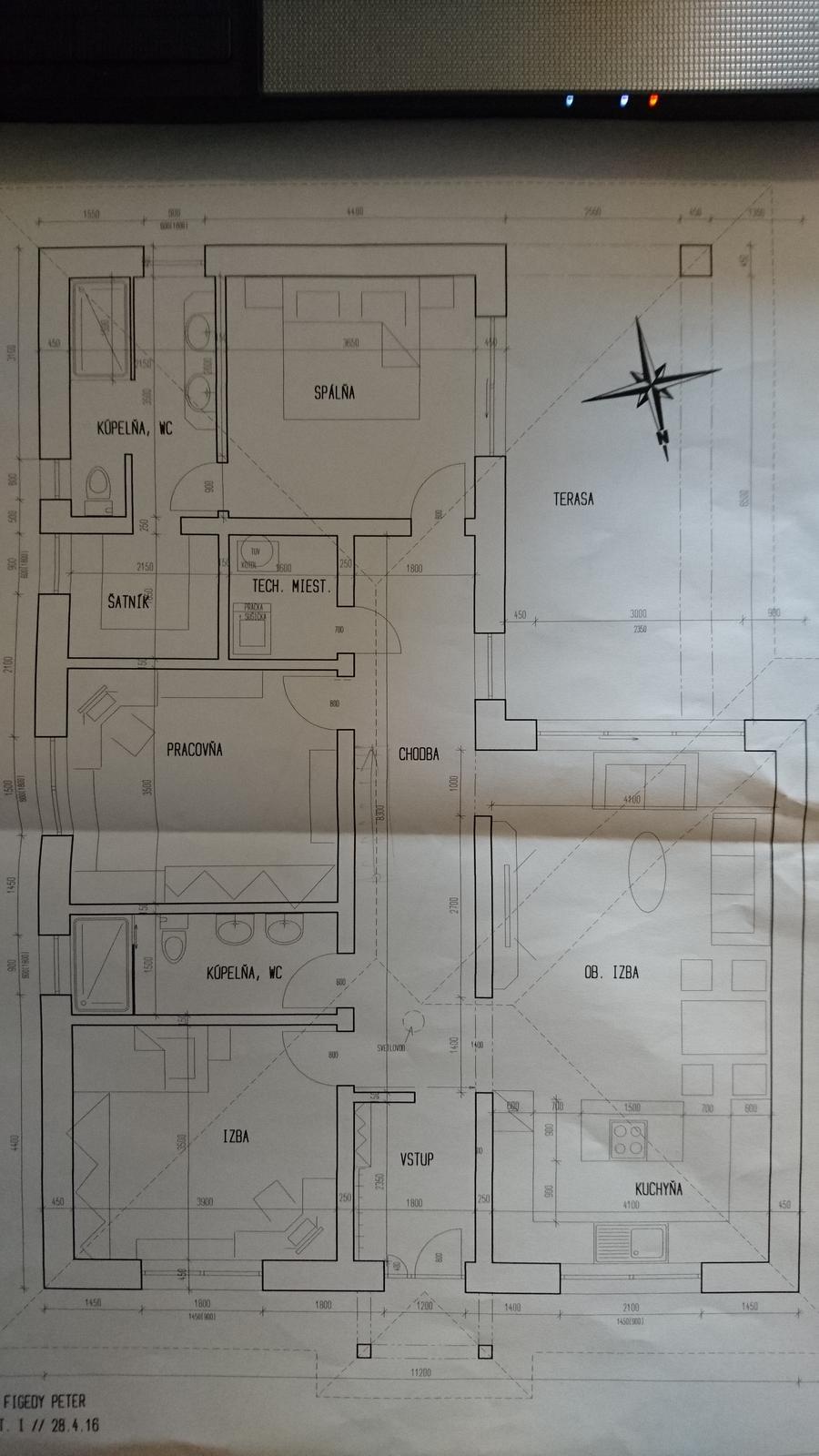 Pozemok + projekt + hruba stavba - Obrázok č. 28