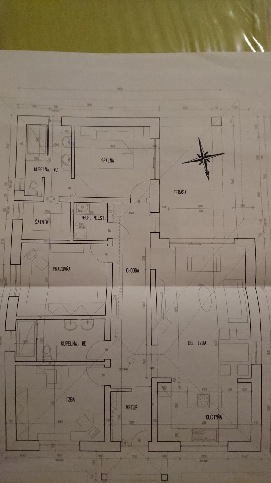 Pozemok + projekt + hruba stavba - Obrázok č. 29
