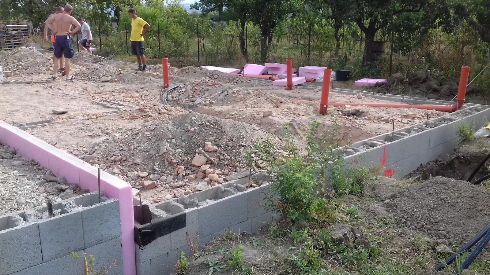 Pozemok + projekt + hruba stavba - Obrázok č. 63