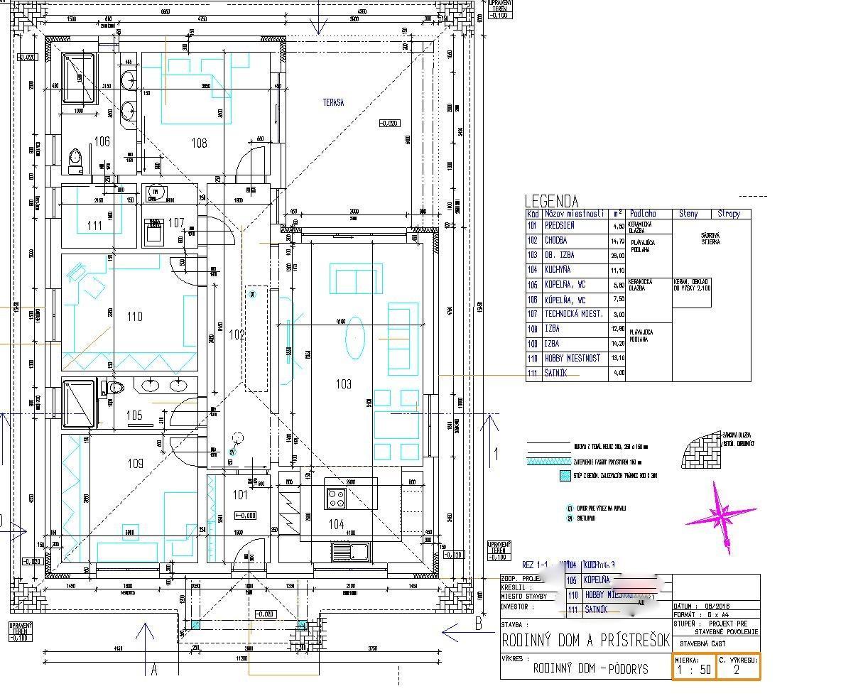 Pozemok + projekt + hruba stavba - Obrázok č. 80