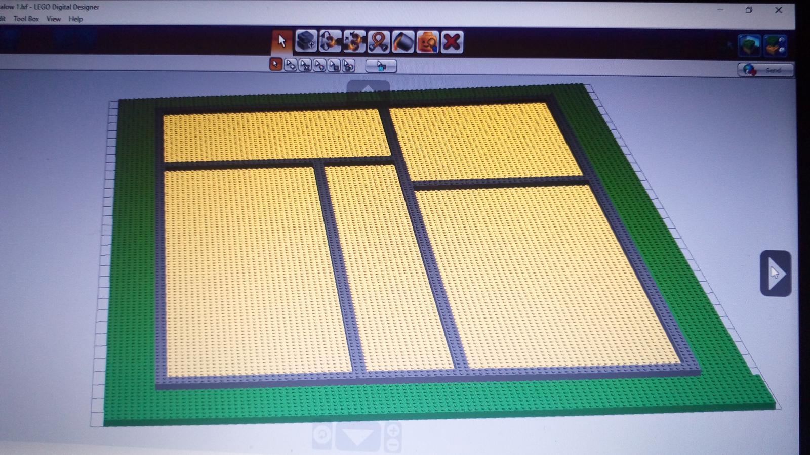 Náš LEGO Bungalow - Obrázok č. 2