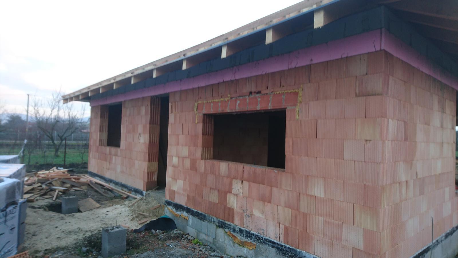 Pozemok + projekt + hruba stavba - Obrázok č. 150