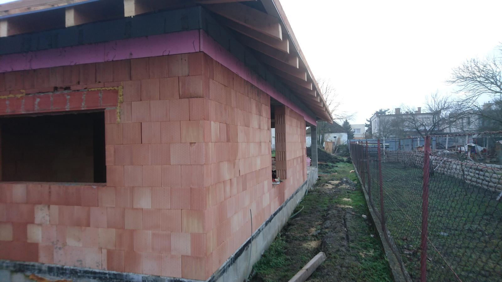 Pozemok + projekt + hruba stavba - Obrázok č. 152