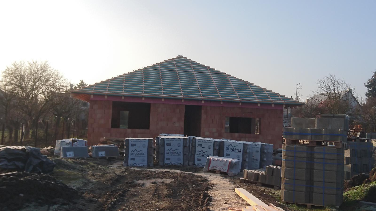 Pozemok + projekt + hruba stavba - Obrázok č. 161