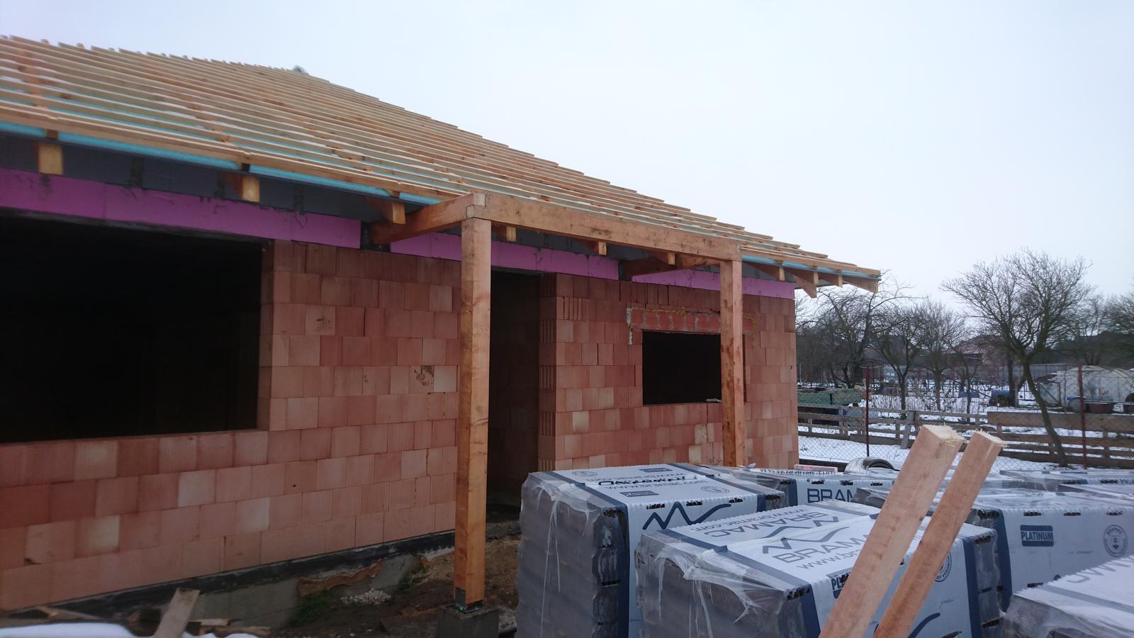 Pozemok + projekt + hruba stavba - Obrázok č. 162