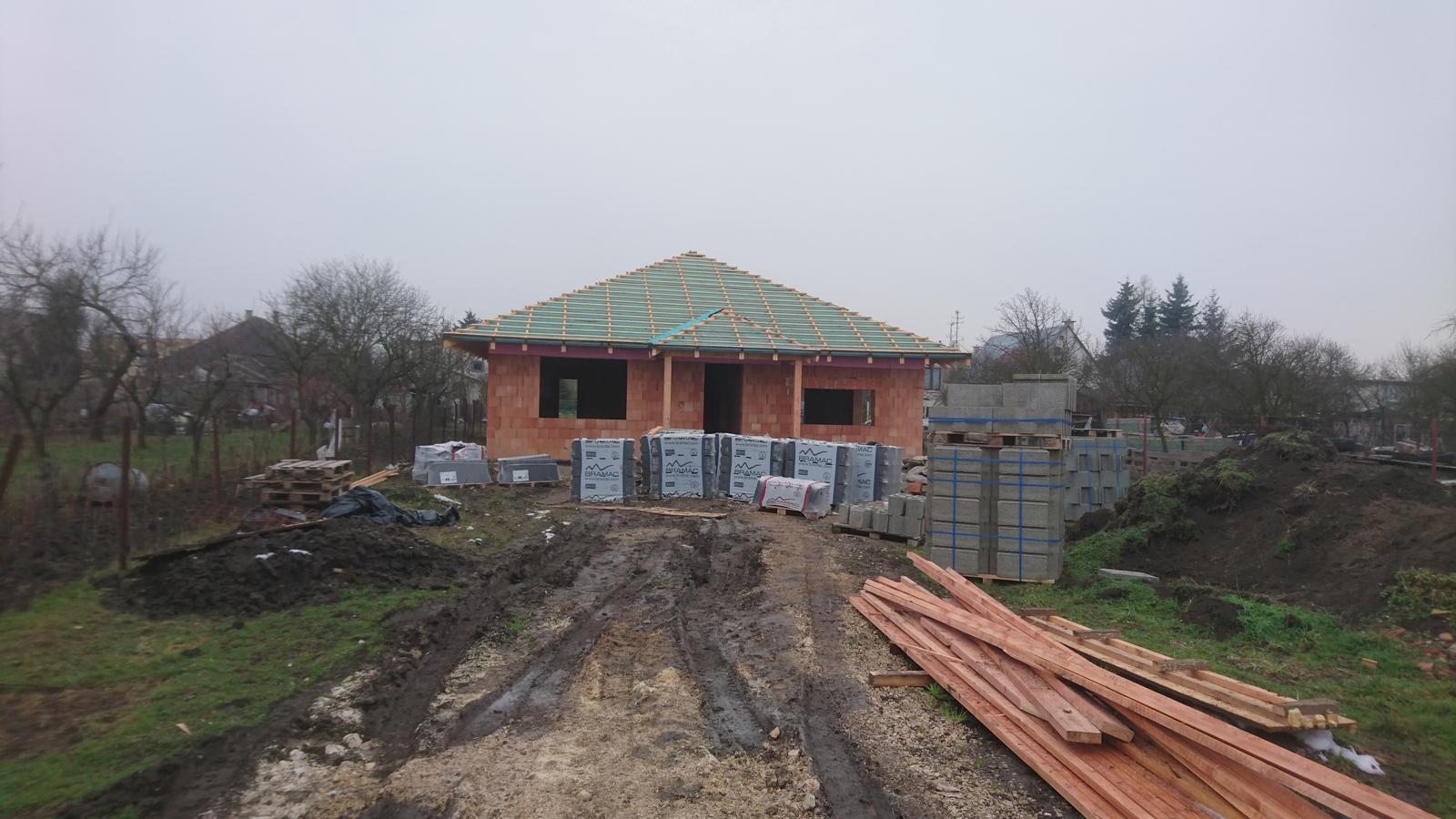 Pozemok + projekt + hruba stavba - Obrázok č. 163