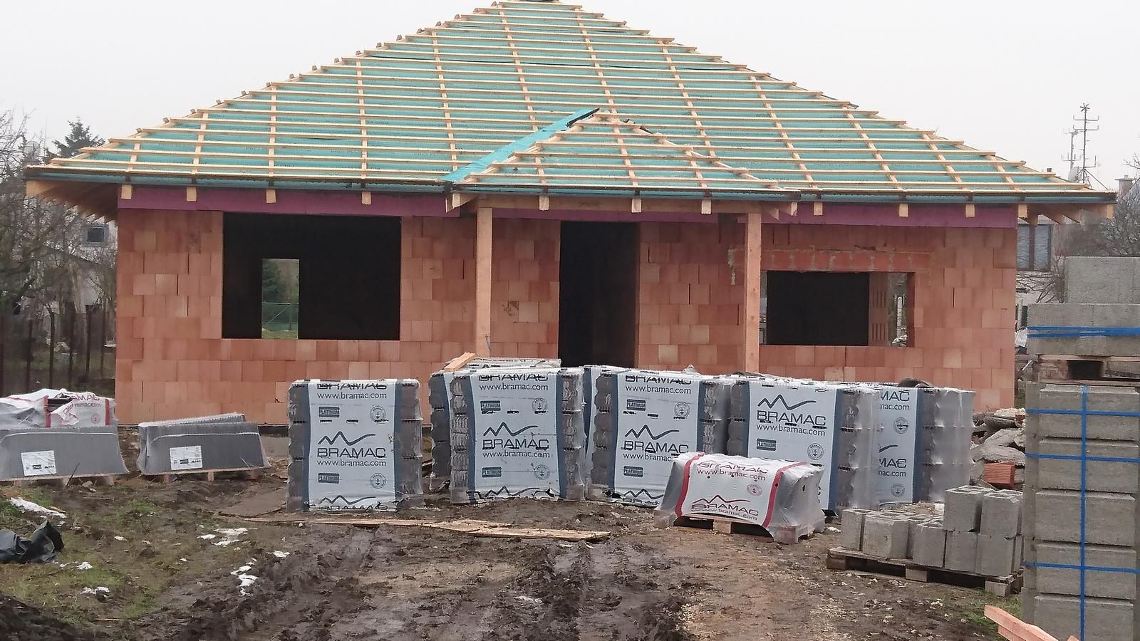 Pozemok + projekt + hruba stavba - Obrázok č. 164
