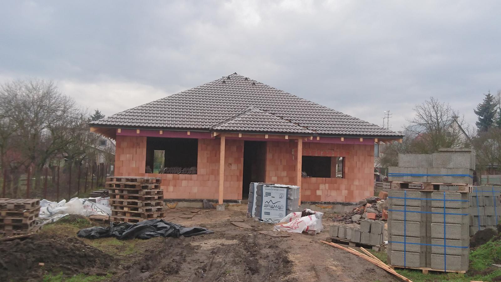 Pozemok + projekt + hruba stavba - Obrázok č. 173