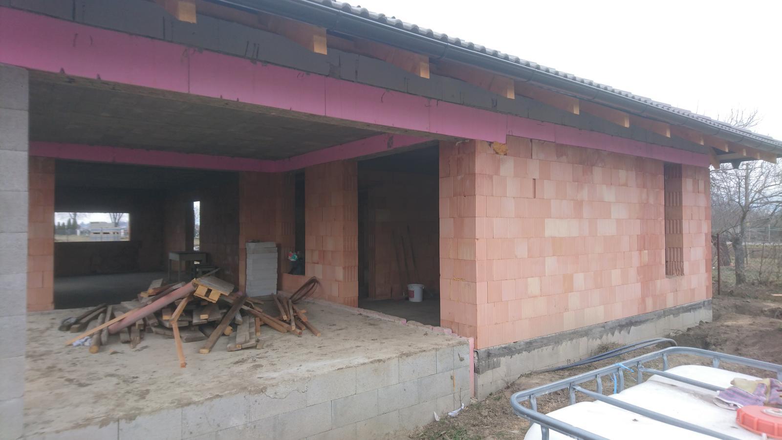 Pozemok + projekt + hruba stavba - Obrázok č. 182