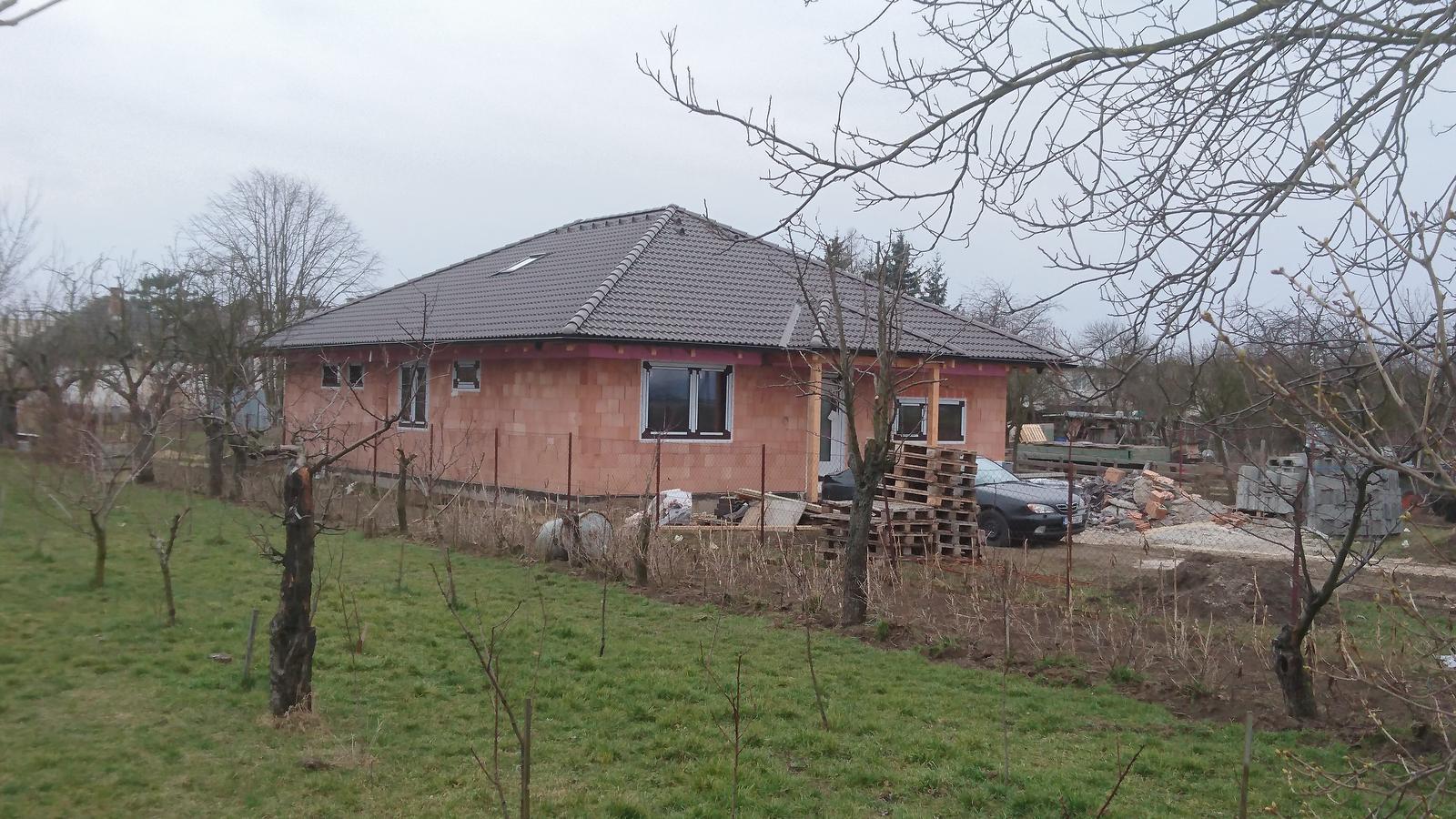 Pozemok + projekt + hruba stavba - Obrázok č. 191