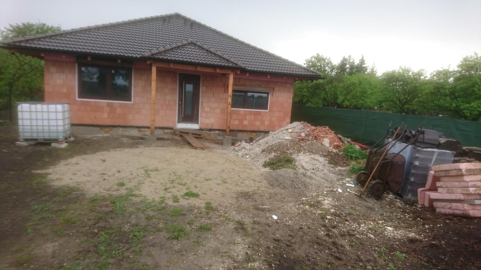 Pozemok + projekt + hruba stavba - Obrázok č. 445