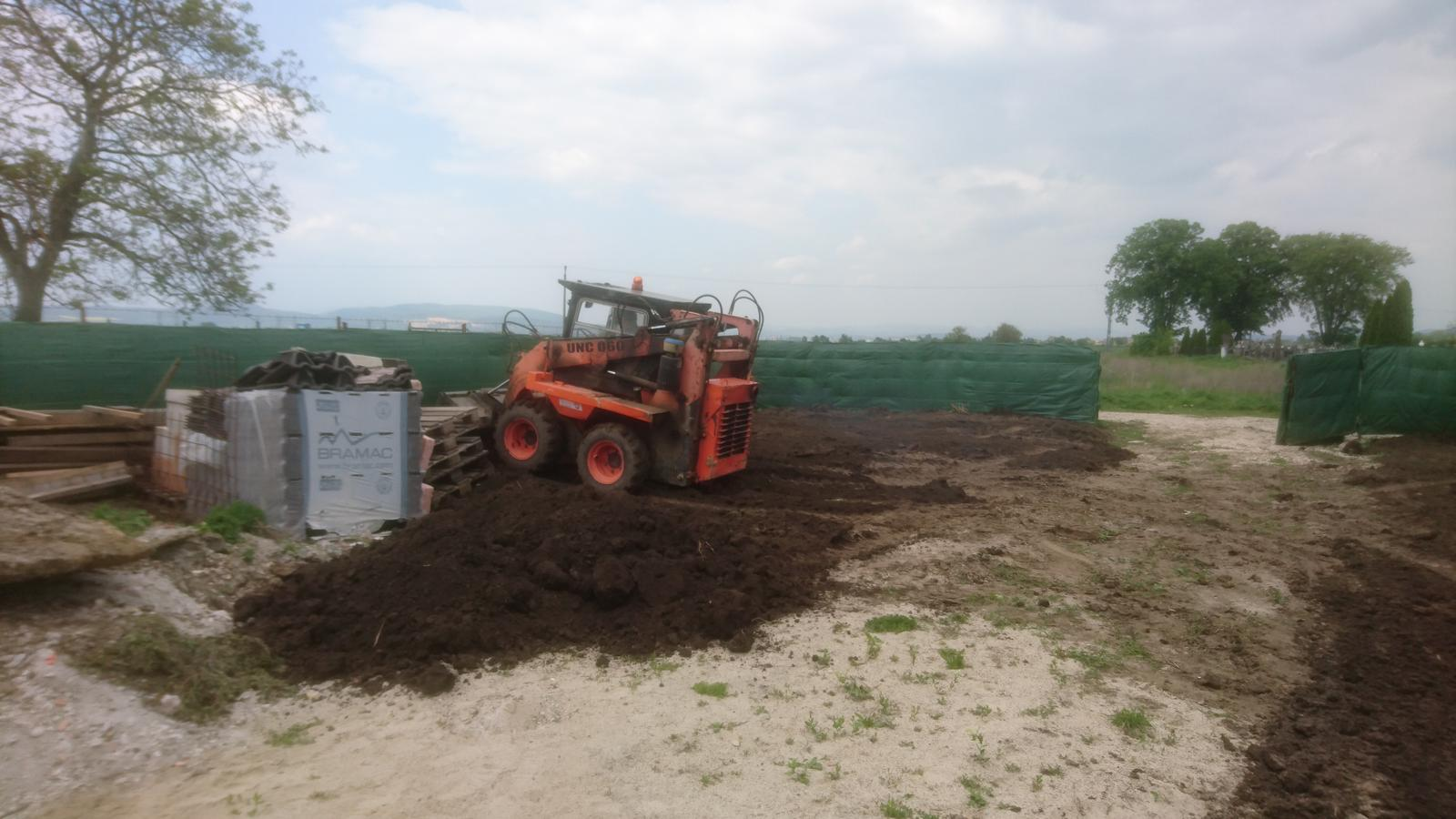 Pozemok + projekt + hruba stavba - Obrázok č. 449