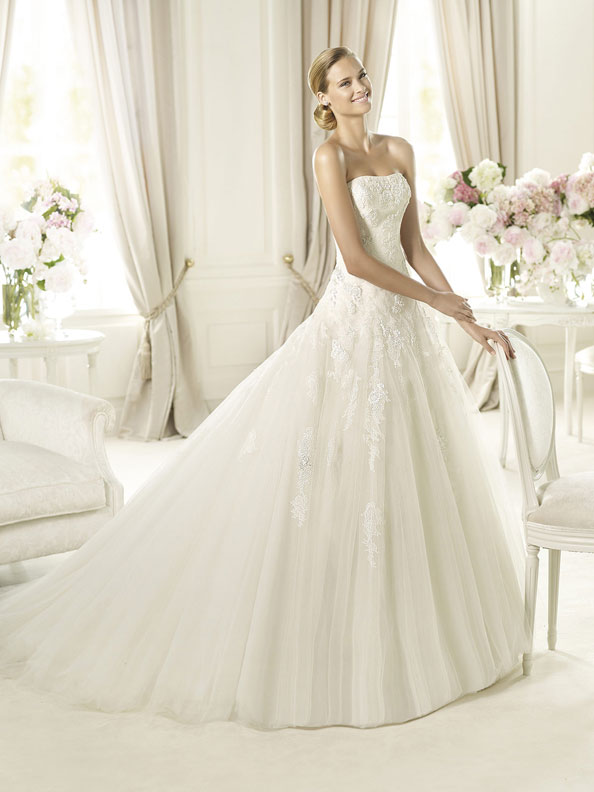 Svatební šaty - inspirace - Obrázek č. 16