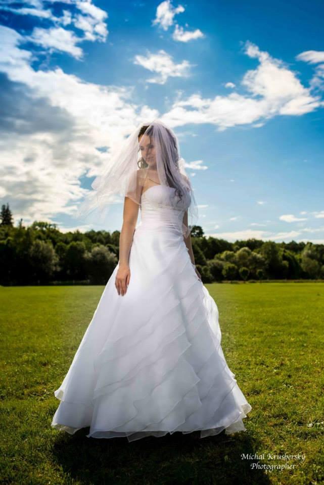Svatební šaty - inspirace - Moje - už oblečené :-))