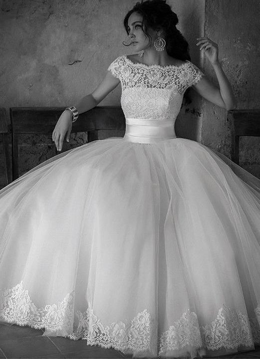 Svatební šaty - inspirace - ...kdybych se vdávala znovu... :-)
