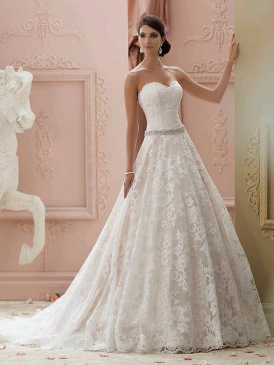 Svatební šaty - inspirace - Obrázek č. 9