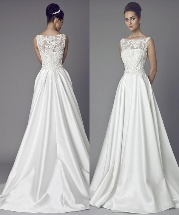 Svatební šaty - inspirace - Obrázek č. 25