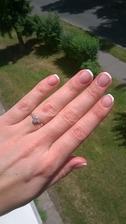 Tohle jsou moje svatební --- shellac francie