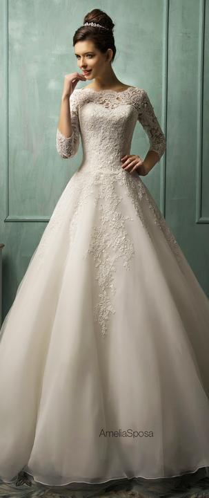 Svatební šaty - inspirace - Obrázek č. 10