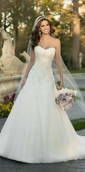 Svatební šaty - inspirace - Obrázek č. 13
