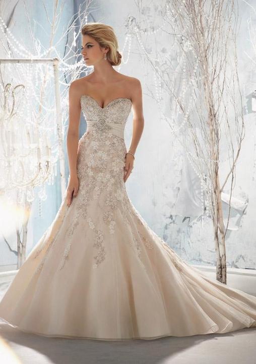 Svatební šaty - inspirace - Obrázek č. 44