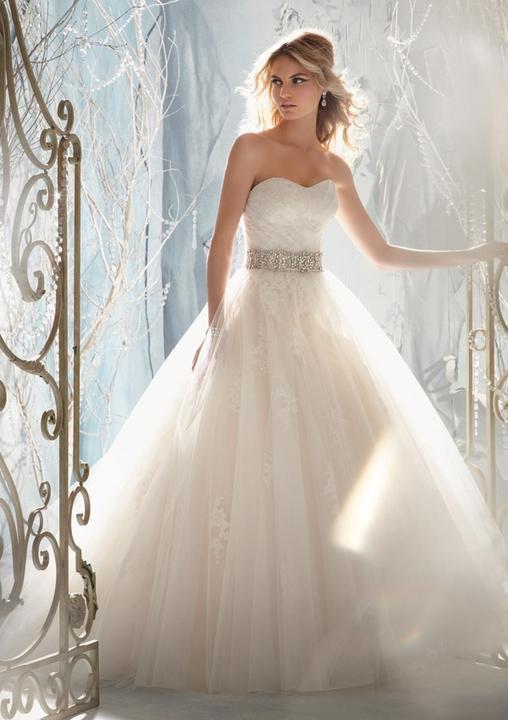 Svatební šaty - inspirace - Obrázek č. 8