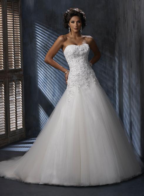 Svatební šaty - inspirace - Obrázek č. 6