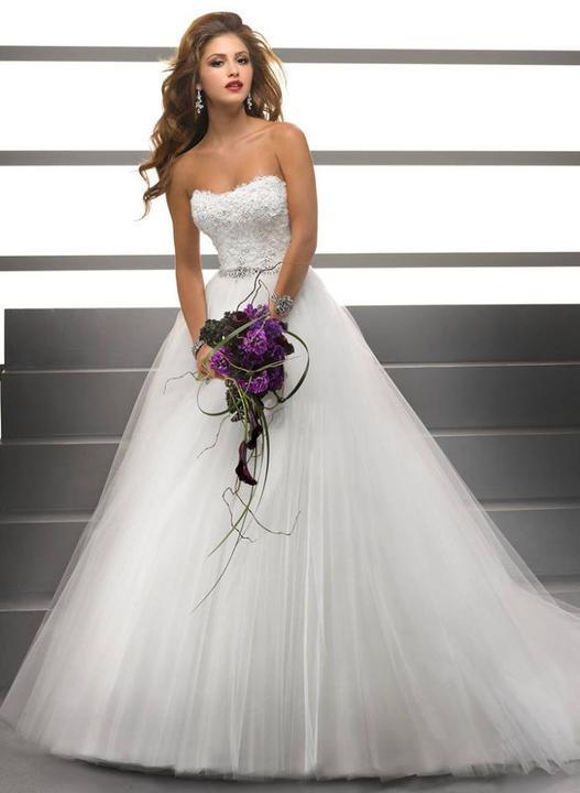 Svatební šaty - inspirace - Obrázek č. 51