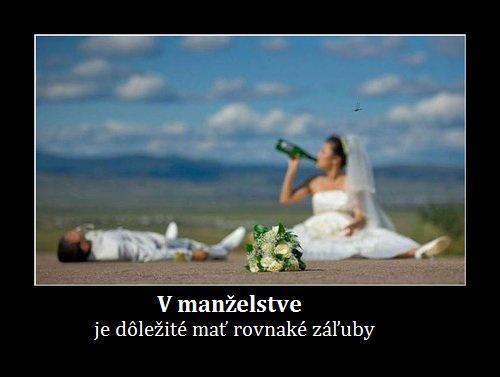 Vtípky o svatbě, manželství, muži vs. ženy - Obrázek č. 11