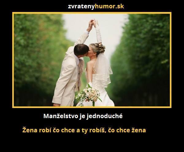 Vtípky o svatbě, manželství, muži vs. ženy - Obrázek č. 12