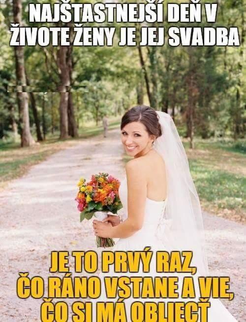 Vtípky o svatbě, manželství, muži vs. ženy - Obrázek č. 30