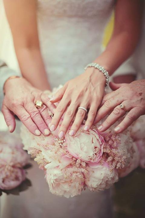 Svatební fotky - inspirace - od nevěsty enette
