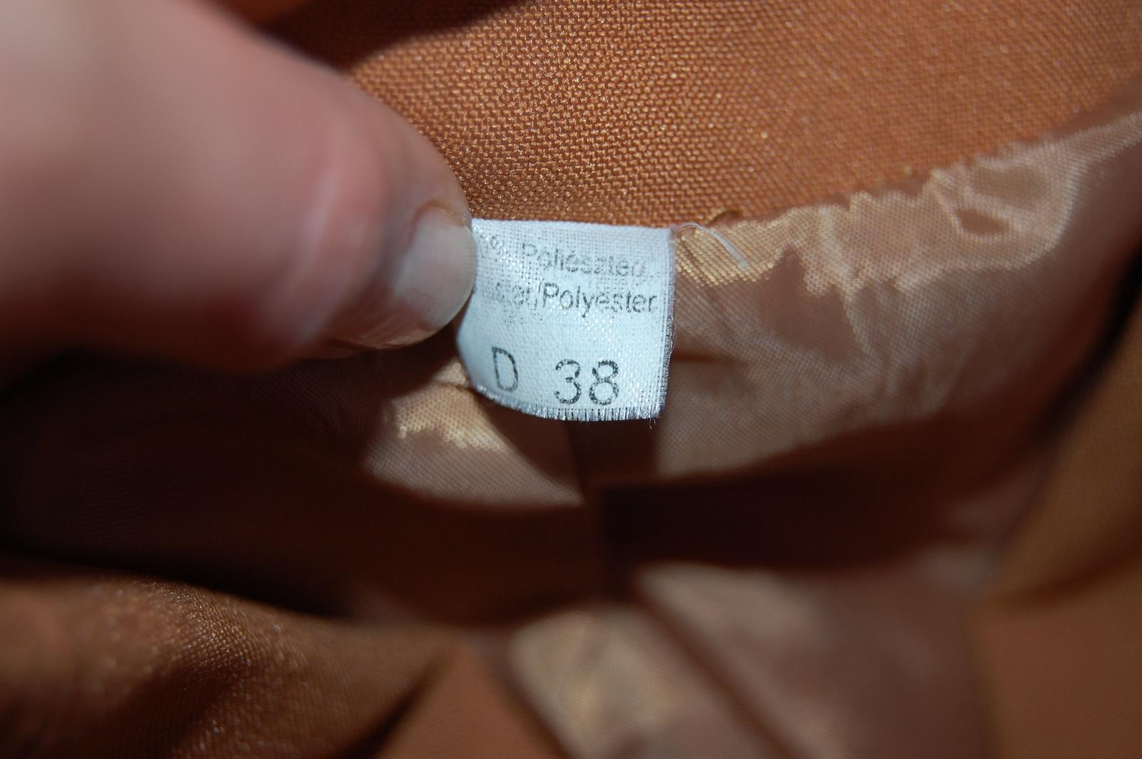 Rezavé dámské sako - Obrázek č. 3