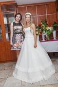Svadobné šaty v jednoduchosti je krása , 38