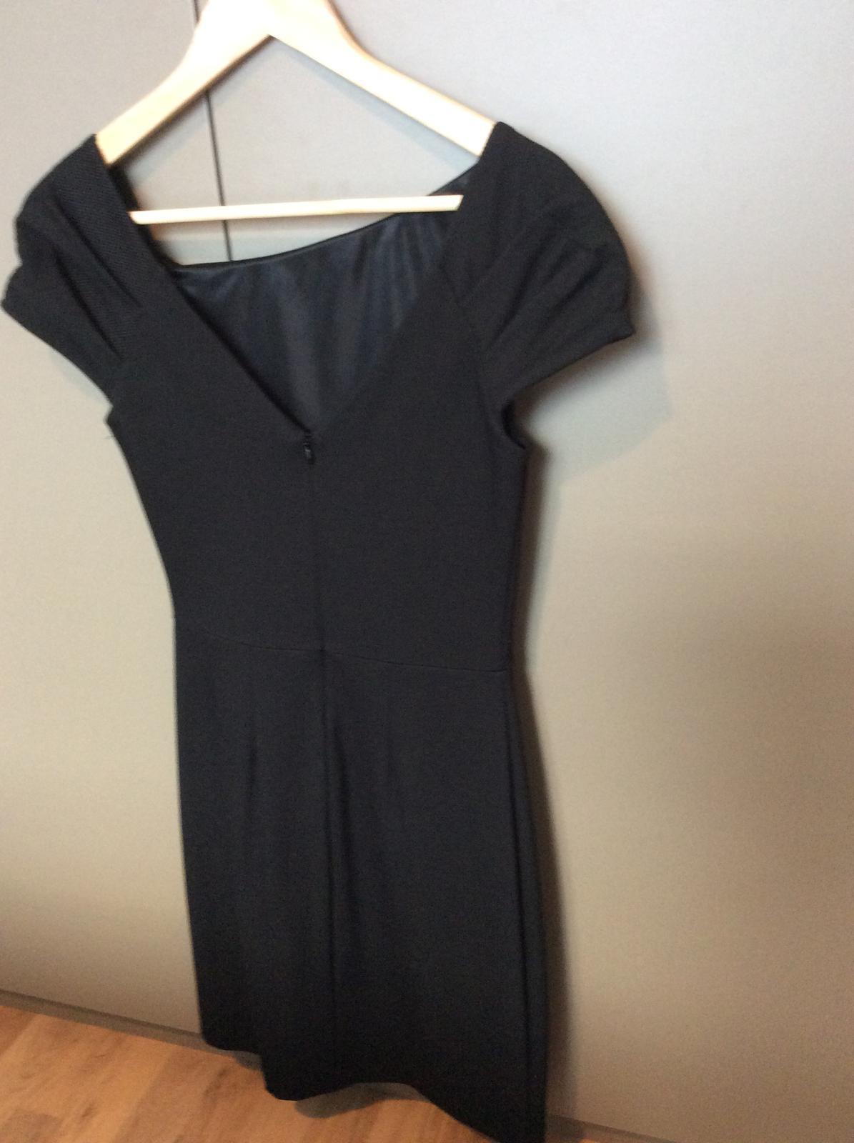 Čierne šaty značky Mango - Obrázok č. 2